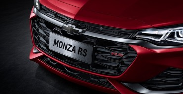 Chevy Introduces a New Monza Sedan for the Chinese Automotive Market
