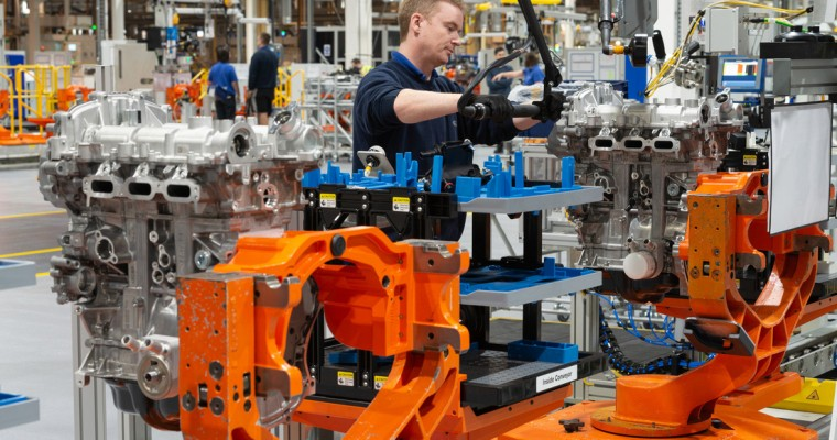 Production on New EcoBoost Three-Cylinder Underway at Bridgend Plant