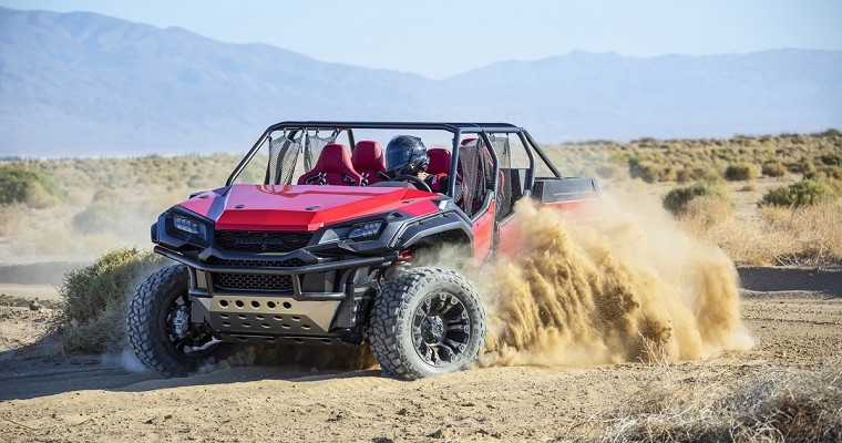 Honda Converts Ridgeline Into Massive ATV for SEMA