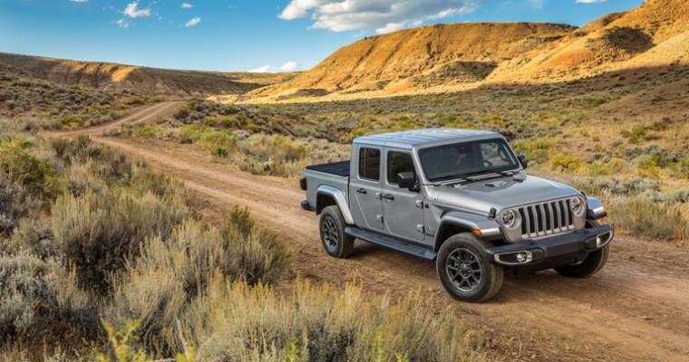 2020 Jeep Gladiator Makes History At Annual Northwest Automotive Press Association Mudfest