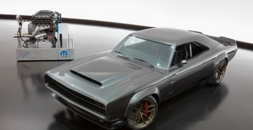 "Mopar Pairs the 1968 Dodge ""Super Charger"" Concept with the 1,000-Horsepower ""Hellephant"" Engine at SEMA"