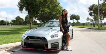 Naomi Osaka Takes A Ride in Her New Nissan