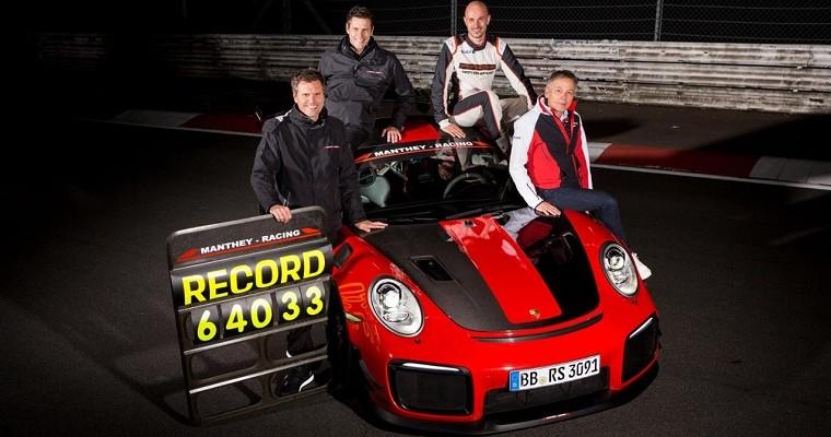 Porsche 911 GT2 RS MR Sets New Road-Legal Nürburgring Record