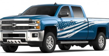 "Chevy Offers Patriotic ""Tribute Edition"" for 2019 Silverado 2500HD, 3500HD"