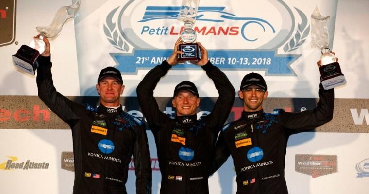 Cadillac Celebrates Four Wins to Acquire IMSA Prototype Championship