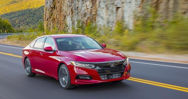 Honda Sweeps 2019 Kelley Blue Book Best Buy Awards