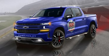 First-Ever Daytona 500 Pace Truck, a Chevy Silverado, Will Be Driven by Dale Earnhardt Jr.