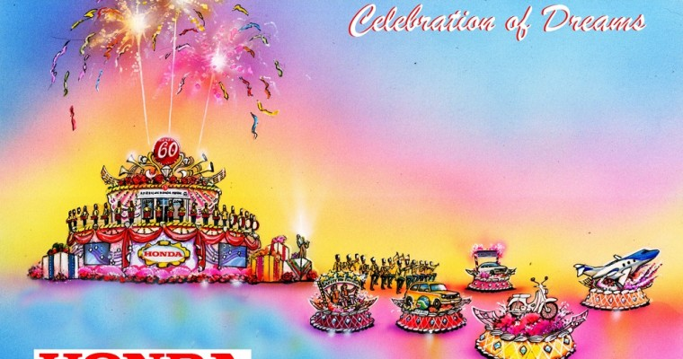 "Honda's ""Celebration of Dreams"" Float to Lead the 2019 Rose Parade"