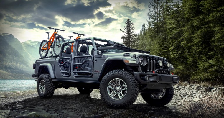 More Than 200 Mopar Accessories Available for 2020 Jeep Gladiator