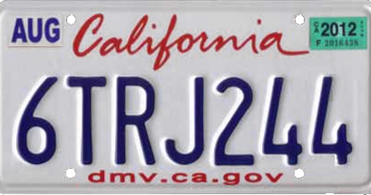 "California Ends ""Steve Jobs Loophole"" for License Plates"