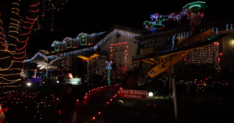 3 Drive-Thru Holiday Light Displays in California