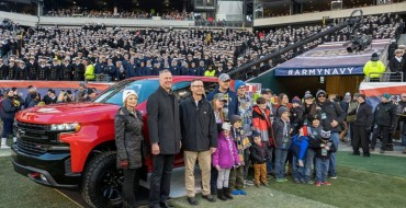 Chevrolet Donates Seven Silverados to Operation Homefront