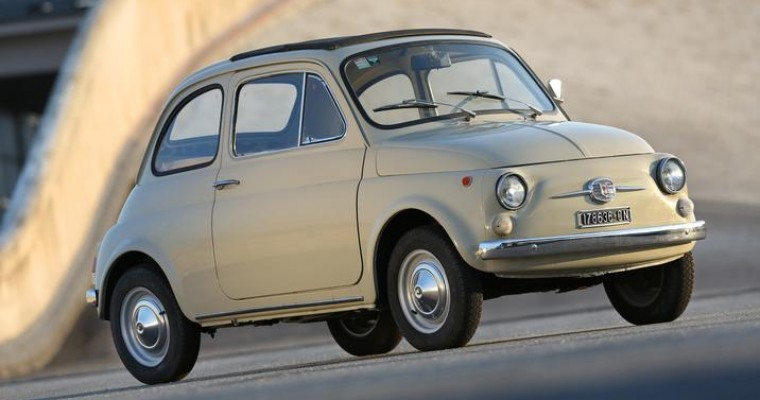 The Museum of Modern Art to Include Fiat 500 in New Spring Design Exhibit