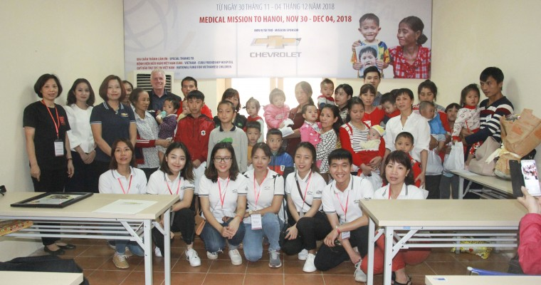 General Motors Lends Support to Operation Smile Vietnam