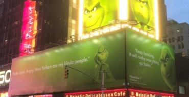 The Grinch Pokes Fun At Traffic