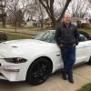 Ford Credit Retiree Jesse Foster Wins Kona Blue Ford Mustang Bullitt