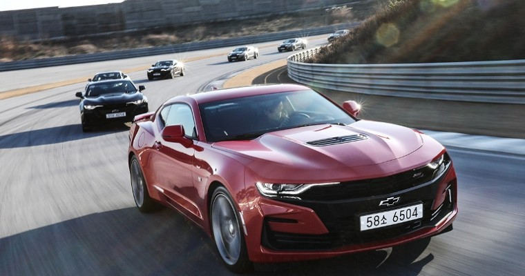 New Chevrolet Camaro SS Is Coming to South Korea