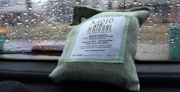 Review: Moso Natural Air Purifying Bag Absorbs Nasty Car Smells