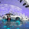 Giant Nissan Snow Globe Pops Up at NYC's Oculus