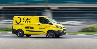 Ford Serves Up 80 Transit Vans to noon.com for Yellow Friday