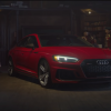 Santa Shapes Up, Drives Audi RS5 Sportback