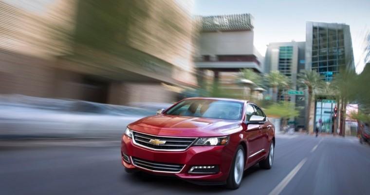 Two Chevy Sedans Earn Spots On List Of 20 Roomiest Sedans In 2019