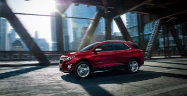 Chevrolet Equinox Wins J.D. Power's Most Dependable Model for Compact SUV Segment
