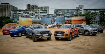 Ford Ranger Notches Record Sales, Bunches of Awards in Asia Pacific