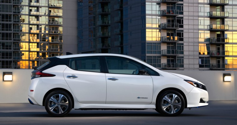 All-Electric Nissan LEAF Makes History With Sales Surpassing 400,000 Units