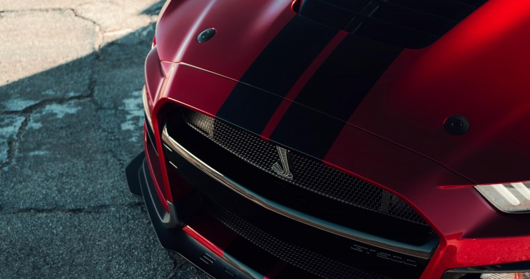 Painted-On Mustang Shelby GT500 Racing Stripes Cost $10K