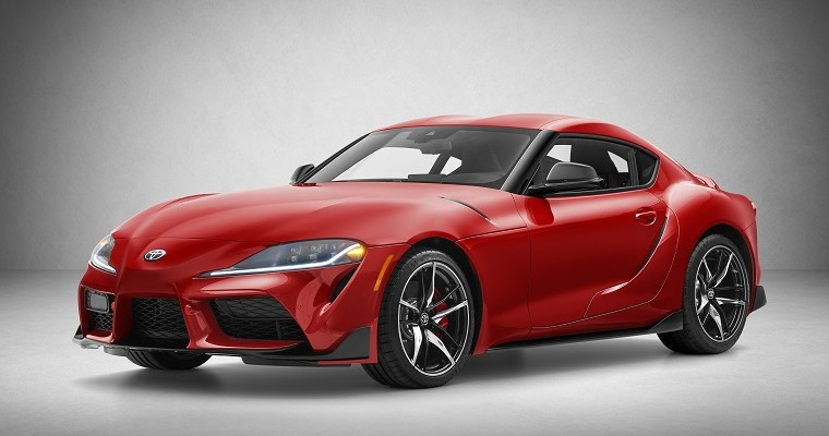 2020 Toyota Supra to Make First Public Appearance in Chicago Alongside Pizza-Making Pickup Truck