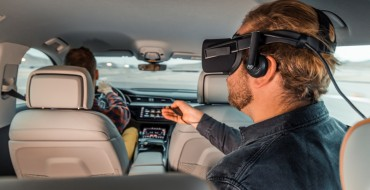 Audi Brings Virtual Reality to the Back Seat