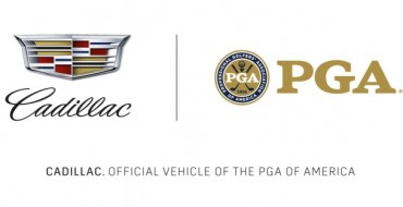 Cadillac Is Now the Official Vehicle of the PGA