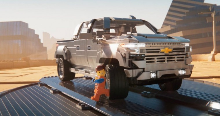 LEGO Movie Stars and 2019 Silverado 1500 High Country Featured in New Chevy Ads