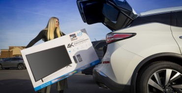 Buying a New Flat-Screen TV for Sunday's Game? Nissan Models Offer Plenty of Room