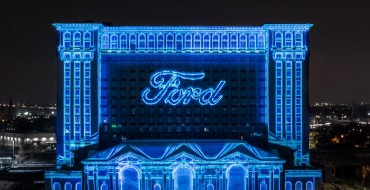 Ford Holds Michigan Central Station Winter Festival