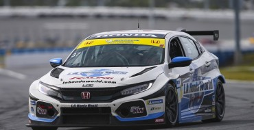 Honda Civic Type R Finishes 1-2 in Daytona Debut