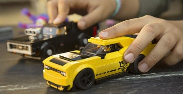 Dodge and LEGO Assemble a Building Set Featuring Dodge Performance Vehicles