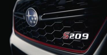 Literal Spoiler Alert: Subaru STI S209 Debuts in the US