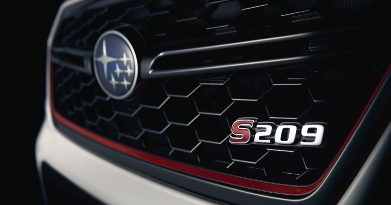 Literal Spoiler Alert: Subaru STI S209 Debuts in the US