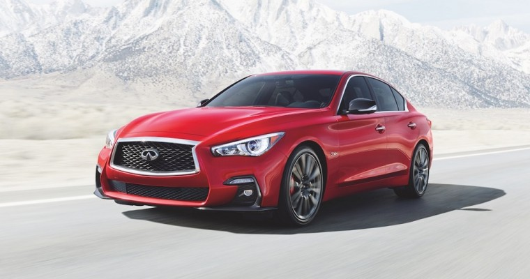 Infiniti Vehicles Win Big with Vincentric