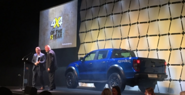 Ford Ranger Raptor Wins 4×4 of the Year in Australia