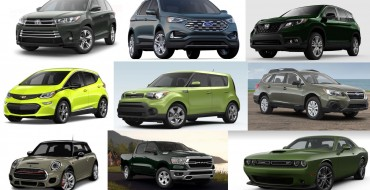 Uncommon Car Colors: 2019 Models Available in Green
