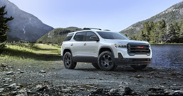 GM Reveals Refreshed 2020 GMC Acadia Will Be Available in Mexico