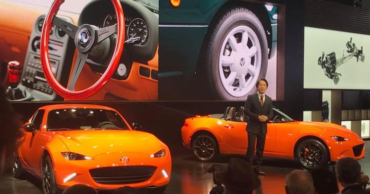 Mazda Unveils MX-5 Miata 30th Anniversary Edition at CAS