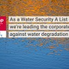 Ford Earns A from CDP for Water Security