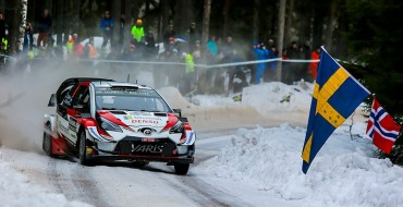 Toyota Yaris WRC Races to Victory in Sweden