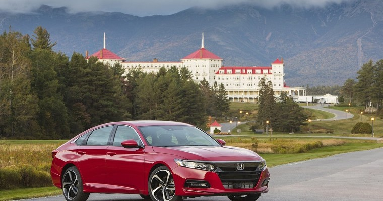 2019 Honda Odyssey and Accord Named 'Best Cars for Families'
