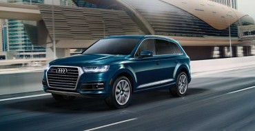 2019 Audi Q7 Earns Best Luxury 3-Row SUV for Families Award