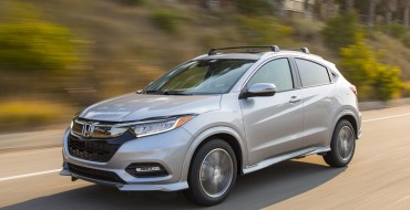 2019 Honda HR-V Earns IIHS Top Safety Pick